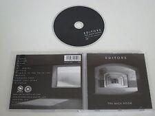 EDITORS/THE BACK ROOM(PLAY IT AGAIN SAM(PIAS)-449.3011.020)CD ALBUM