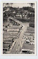 BONNERS FERRY AND KOOLENAIR RIVER BRIDGE: Idaho USA  postcard (C13032)