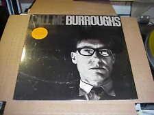LP:  WILLIAM BURROUGHS - Call Me Burroughs  NEW SEALED REISSUE