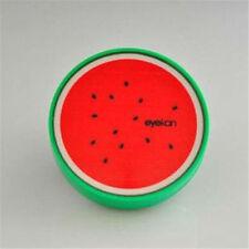 Bolsillo de viaje estilo de frutas remojo almacenamiento de información contacto Len Case Box Holder Contenedor caliente