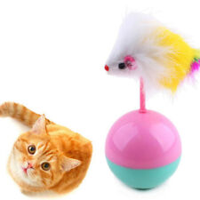 Pets Supplies Cat Teaser Toys Ball Funny Mouse Tumbler Dog Plush Training Kitten
