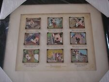 Disney Mickey's Festival of Dreams Picture the Moment 9 Pin Framed Set LE 250