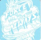 Star Wars The Force Will Be With You Always 2014 Comic-Con SDCC promo coaster MT