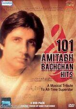 101 AMITABH BACHCHAN HITS - BOLLYWOOD MUSIC 3 DVD SET - FREE POST