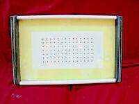 DDR Tablett Grün Vintage