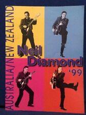 NEIL DIAMOND TOUR BOOK AUSTRALIA NEW ZEALAND 1999 PROGRAMME RARE CHEAP AUS