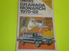 Ford Granada 1975-1982 Mercury Monarch 1975-1980 repair manual New Old Stock