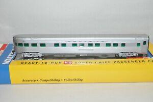 HO Walthers Santa Fe Ry 85' streamlined passenger car train CHIEF PS OBS LOUNGE