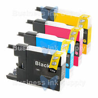 4 PACK LC71 LC75 Compatible Ink Cartirdge for BROTHER Printer MFC-J435W LC75