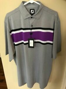 New WithTags Footjoy Men's Large Polo, Golf Shirt-Super Color!-MSRP$74.99.