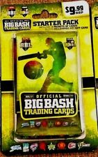 2017/18 Tap n Play BBL Big Bash Cricket Trading Cards Starter Pack Sealed (NEW)