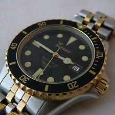 Squale Watch quartz 200 mt - vintage unisex 1545-058 bicolor