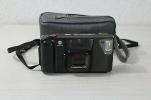 Minolta Freedom 100 Point & Shoot 35mm Film Camera Tested And Working