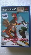 PS2 SONY PLAYSTATION 2 PAL ALPINE RACER 3 NAMCO