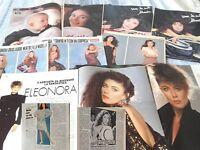 ELEONORA BRIGLIADORI_dal 1984-1998_clippings_lotto articoli da riviste d'epoca