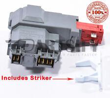 NEW 131763202 WASHER DOOR LOCK FOR FRIGIDAIRE KENMORE GE WITH STRIKER 131763310