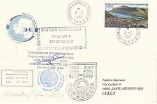 Italy - antarctic  cover  from  expedition 2006-2007 Concordia Station