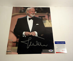 John Williams Star Wars Composer Signed Autograph 11x14 Photo PSA/DNA COA A