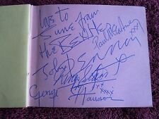 The Beatles Authentic Early Set Of Autographs 3/26/63 W/John Adding The Beatles!