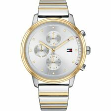 Brand New Tommy Hilfiger Ladies Blake Two-Tone Chronograph Watch 1781908