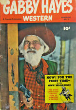 Gabby Hayes Western #1 Fawcett Comic Golden Age 1948 VG First Issue