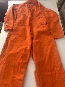 Dickies Coveralls Mens Long Sleeve Work Orange