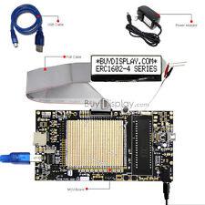 8051 Microcontroller Development Board Kit USB Programmer for 16x2 Character LCD