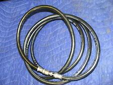 """Hydraulic Steering 1/4"""" SAE 100R7 Hose 10' Q.C. 0398-B Autopilot 1250-3000 PSI"""