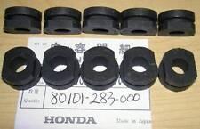Honda CB450 CB750 10-pack of rubber fender, speedometer grommets 80101-283-000 U