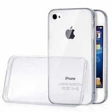 Custodia Back Cover Gel TPU Case Trasparente per iPhone 4 4S - Nuovo