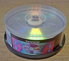22 Stück DVD+R Rohlinge ** Tevion **