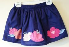 New Gymboree Bright Days Ahead Flower Applique Skirt Girl's Size 5/5T