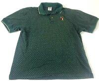 Disney The Disney Store Men's Large Tigger Green Short Sleeve Polo shirt