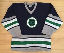 Game Worn Ozaukee Ice Dogs Youth Hockey Jersey. Trimark Brand Size M. #45