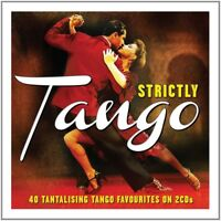 STRICTLY TANGO (ENRIQUE RODRIGUEZ, HÉCTOR MAURÉ, FRANCISCO CANARO, ) 2 CD NEU