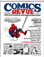 """Comics Revue Vol 1 No 14-1985-Strip Reprints- """"Amazing Spider-Man Cover!  """""""