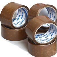 36 Stück Paketband Paketklebeband Kartonband Packband Klebeband 50 mm x 66 m