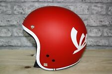 Vespa Red Motorcycle Helmet