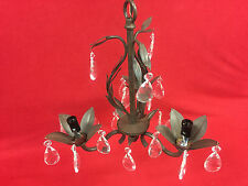 World Imports Bijoux 3-Light Semi-Flush Weathered Bronze Chandelier WI8102362