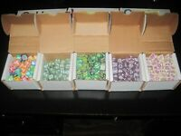 (735) Vintage D&D Dungeons And Dragons TSR Role Playing Dice Lot Coral Lava 1990