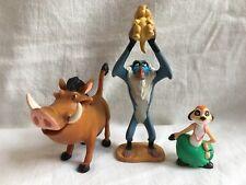 ~ DISNEY ~ il Re Leone Figure ~ Timon & Pumbaa & Rafiki & Simba .11