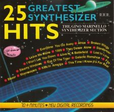 The Gino Marinello Synthesizer Section - 25 greatest synthesizer hits - CD -