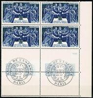 FRANCE  Bloc de 4 n° 1537 Neuf ★★ luxe / MNH 1967 BDF