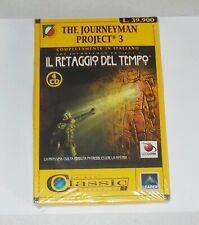 Gioco Pc Cd The Journeyman project 3 IL RETAGGIO DEL TEMPO 4 cd 1998 NUOVO III