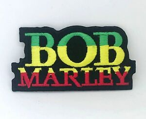 Bob Marley Music Iron on Sew on Embroidered Patch #570