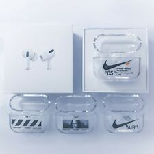 Nike Off-White Apple Airpods Pro Transparent Case Cover *MULTIPLE DESIGNS!*