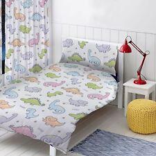 dinosaures prêt à l'em Ploi Rideaux Chambre à coucher pour enfants 137cm goutte