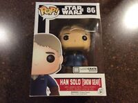 Funko Pop Vinyl Bobble-head Star Wars Han Solo Loot Crate Exclusive New! #86
