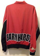 Dale Earnhardt Jr #8 NASCAR Chase Authentics BUD RACING Embroidered Red Jacket L