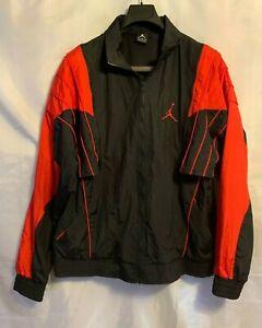 Nike Air Jordan V 5 Vest Jacket Red Black Size XL